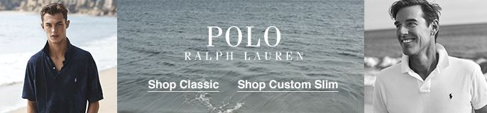 Polo, Ralph Lauren, Shop Classic, Shop Custom Slim