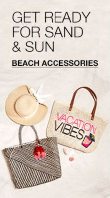 Get Ready For Sand and Sun,Beach Accessories