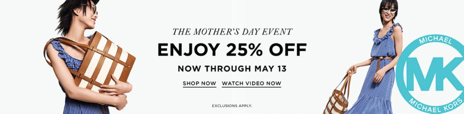 74e60677655f Michael Kors. The Mother s Day Event