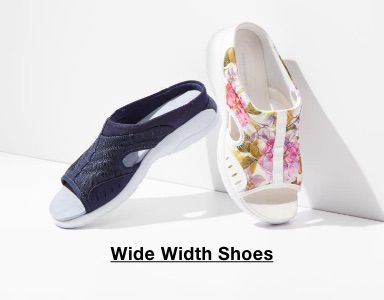 Wide Width Shoes