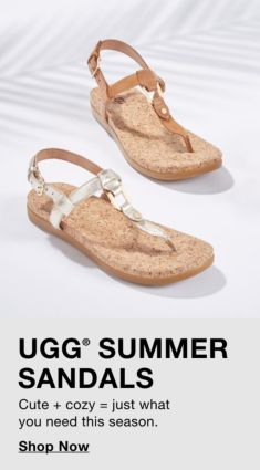 Ugg Summer Sandals, Shop Now