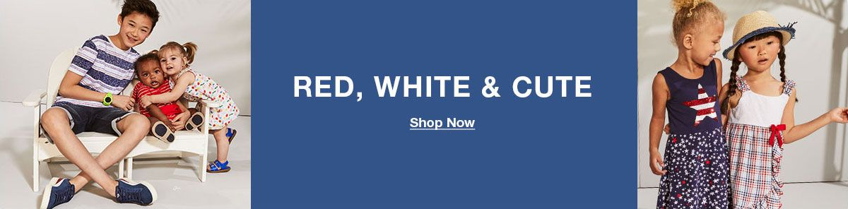 Red, White and Cute, Shop Now