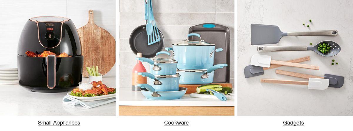 Small Appliances, Cookware, Gadgets