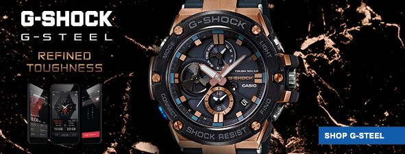 G-Shock, G-Steel Refined Toughness, Shop G-Steel