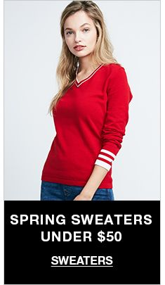 Spring Sweaters Under $50, Sweaters