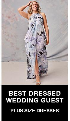 Best Dressed Wedding Guest, Plus Size Dresses