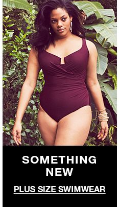 11abf2cf69 Plus Size Swimwear - Womens Plus Size Bathing & Swimsuits - Macy's