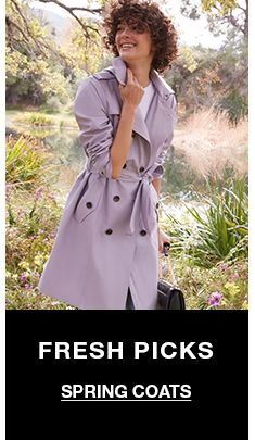 Fresh Picks, Spring Coats