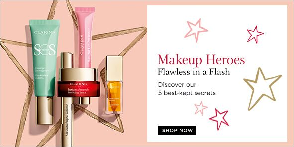 Makeup Heroes, Flawless in a Flash, Discover our 5 best-kept secrets, Shop Now