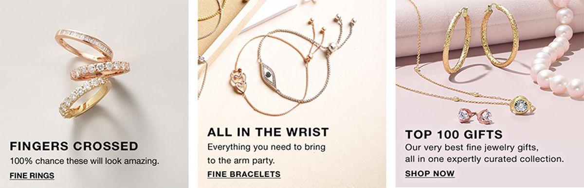 Finger Crossed Gine Rings, All in the Wrist, Fine Bracelets, Top 100 Gift, Shop Now