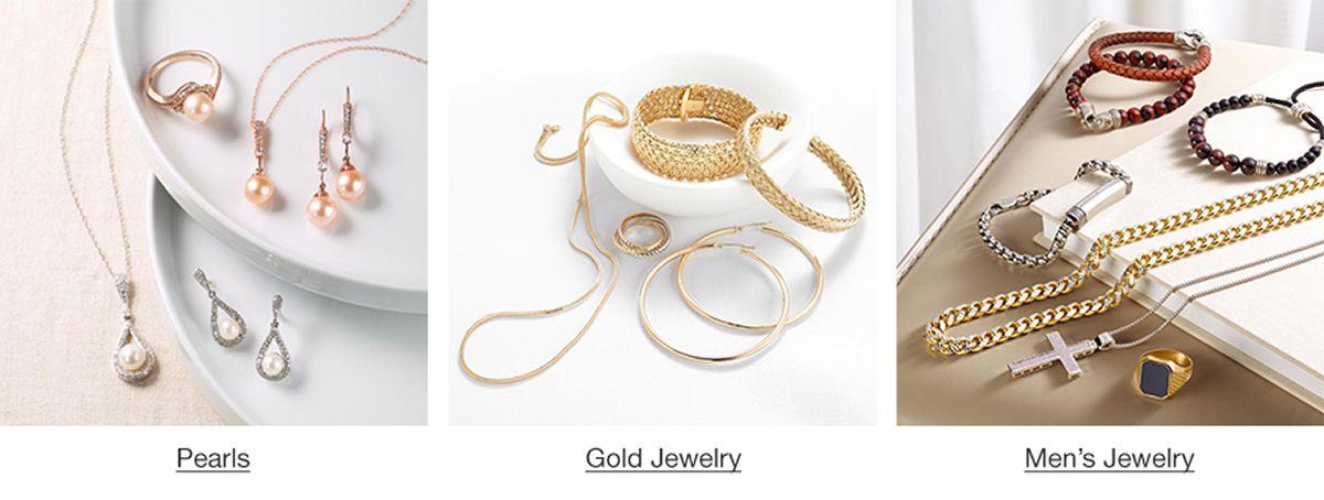 Pearls, Gold Jewelry, Men's Jewelry
