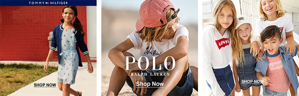 Tommy Hilfiger, Shop Now, Polo Ralph Lauren, Shop Now, Shop Now