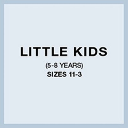Little Kids (5-8 Years) Sizes 11-3