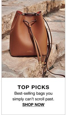 Top Picks, Best-selling bags you simpply can't scroll past, Shop Now