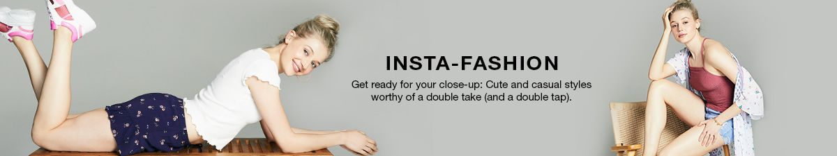 Insta-Fashion, Get ready for your close-up: Cute and casual styles worthy of a double take (and a double tap)