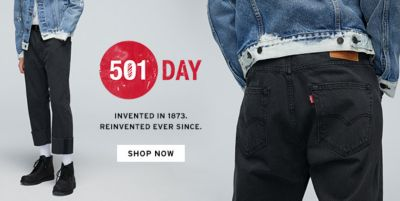501 Day, Invented in 1873, Reinvented Ever Since, Shop Now