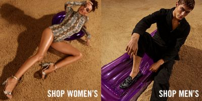 Shop Women's, Shop Men's