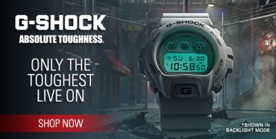 G-Shock Absolute Toughness, Only the Toughest Live on, Shop now