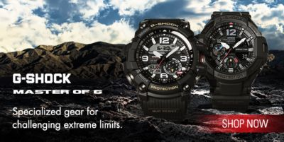 G-Shock Master of G, Specialized gear for challenging extreme limits, Shop now