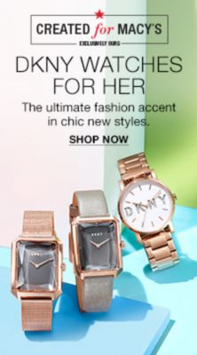 Dkny Watches For Her, The Ultimate Fashion Accent in chic new styles, Shop Now