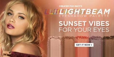 Created for macy's, Light Beam Eyeshadow Palette, Sunset Vibes For Your Eyes, Get it Now