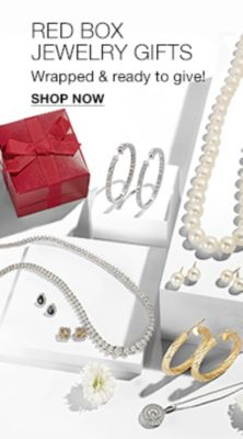 Red Box Jewelry Gifts, Wrapped and ready to give! Shop Now