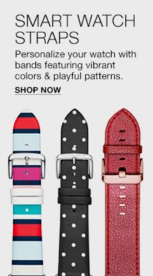 Smart Watch Straps, Personalize your watch with bands featuring vibrant colors and playful patterns, Shop Now