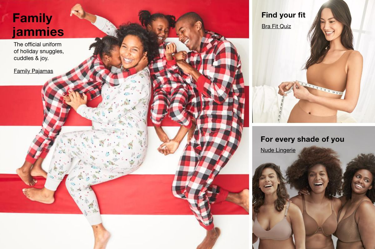 Family jammies, Family Pajamas, Find your fit, Bra Fit Quiz, For every shade of you, Nude Lingerie