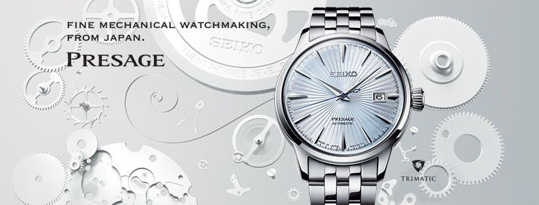 Fine mechanical watchmaking, From japan, Presage