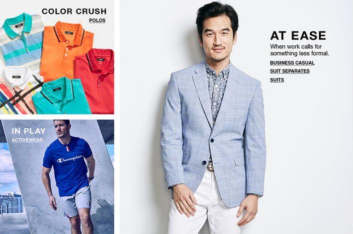 Men S Clothing The Best In Men S Fashion Macy S