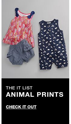 The It List, Animal Prints, Check it out