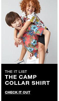 The it list, The Camp Collar Shirt, Check it Out