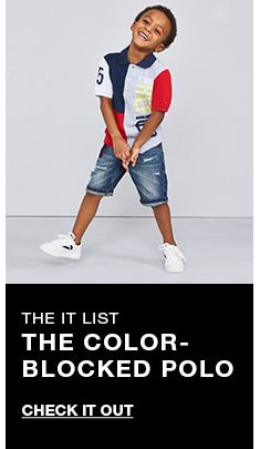 The it list, The Color-Blocked Polo, Check it Out