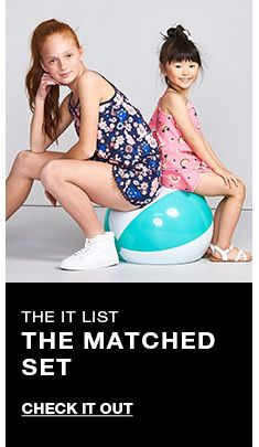 The it list, The Matched Set, Check it Out