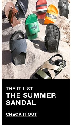 The it list, The Summer Sandal, Check it Out