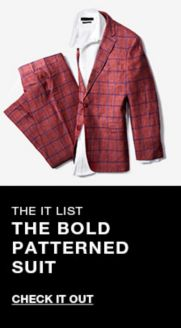 8fc97b5eb The it list, The Bold Patterned Suit, Check it Out
