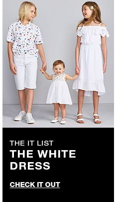 The it list, The White Dress, Check it Out
