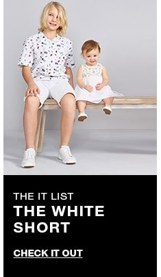 The it list, The White Short, Check it Out