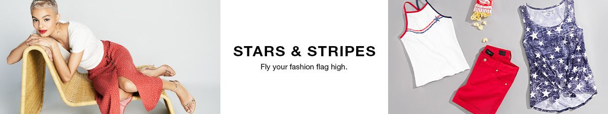 Star and Stripe, Fly your fashion glag high