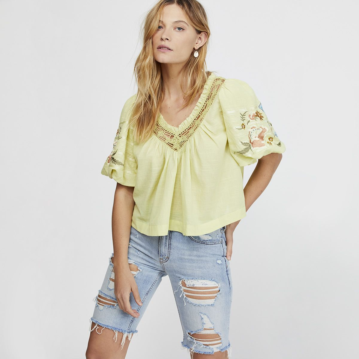 0c225e632f5 Free People Womens Tops - Macy's