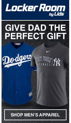 Locker Room by Lids, Give Dad The Perfect Gift, Shop Men's Apparel