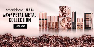 Smashbox + Vlada New! Petal Metal Collection, Shop Now