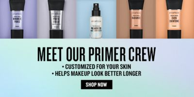 Meet Our Primer Crew, Customized For Your Skin, helps Makeup Look Better Longer, Shop Now
