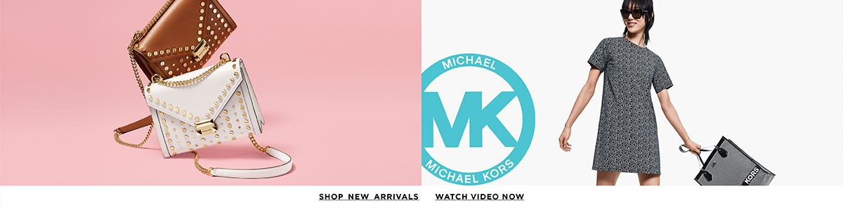 Michael Michael Kors, Shop New Arrivals, Watch Video Now
