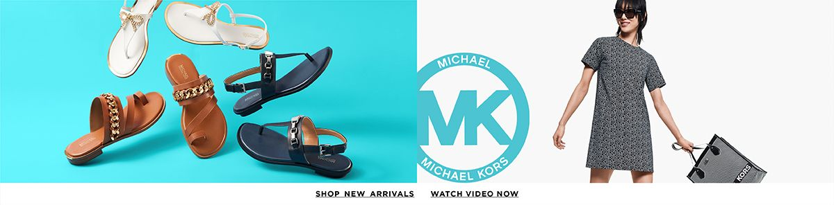 Michael Kors, Shop New Arrivals, Watch Video Now