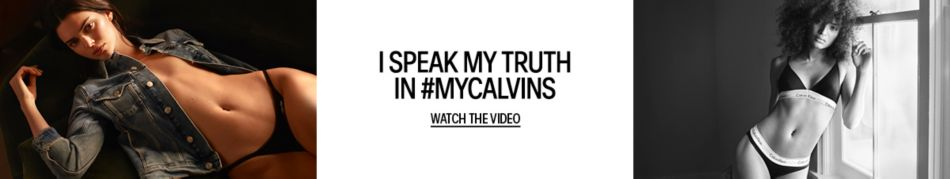 8abdc842f Calvin Klein. I Speak my Truth in  Myclavins