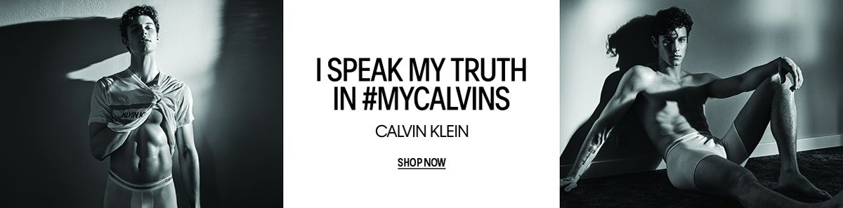 I Speak my Truth in #Myclavins, Calvin Klein, Shop Now