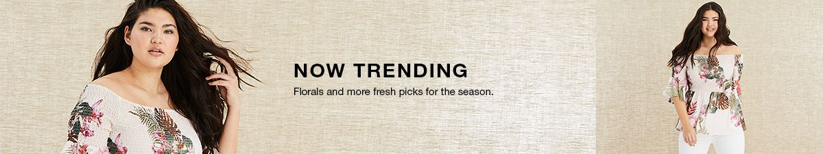 Now Trending, Florals and more fresh picks for the season