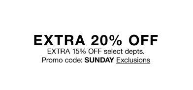 7bbf11eb62 Extra 20 percent off