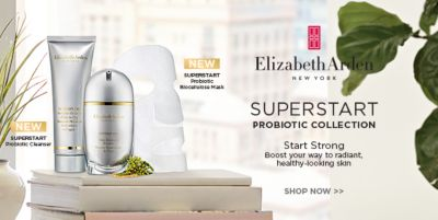 Elizabeth Arden, Superstart, Probiotic Collection, Start Strong, Boost your way to radiant, healthy-looking skin, Shop now